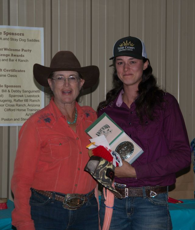 Novice Event WInner First Buckle