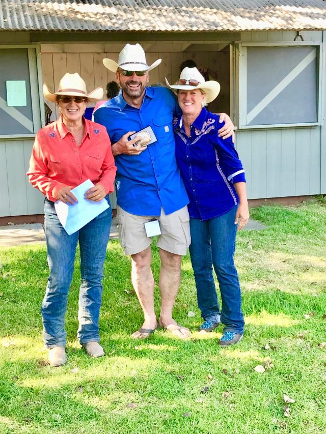 Sarah, Paul, Kathy